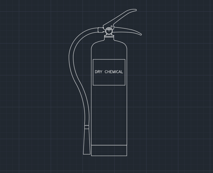 Fire Extinguisher (Dry Chemical)