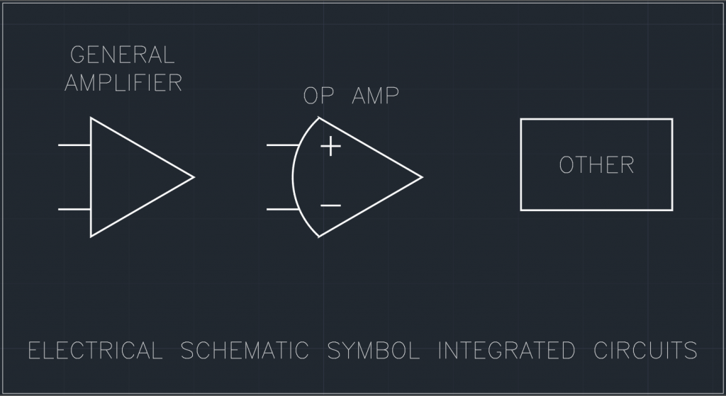 Electrical Schematic Symbol Integrated Circuits
