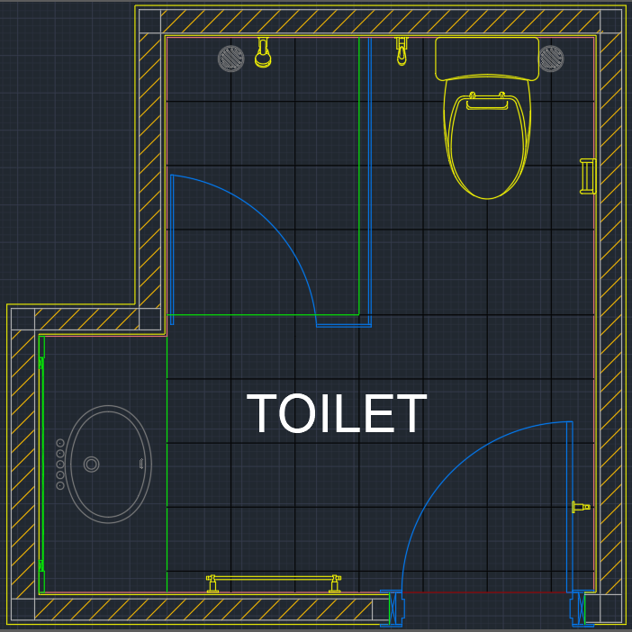 Toilet Drawing