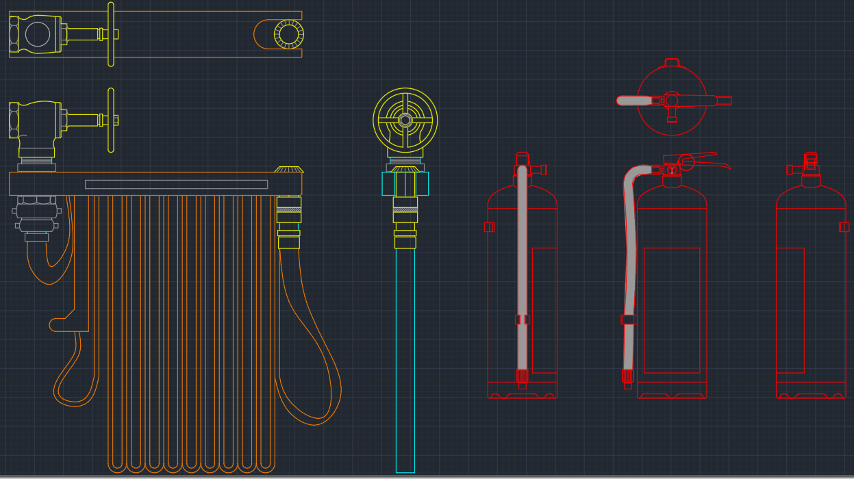 Portable fire extinguisher free cad blocks and cad drawing fire extinguisher buycottarizona