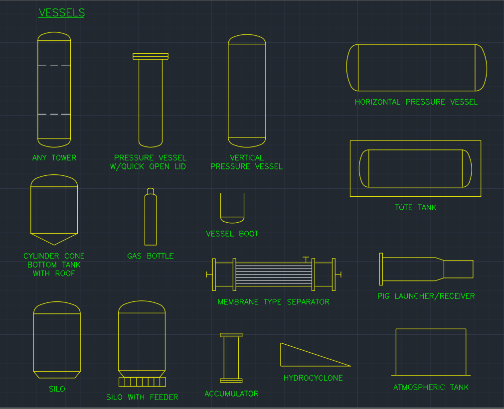 vessels free cad block and autocad drawing. Black Bedroom Furniture Sets. Home Design Ideas