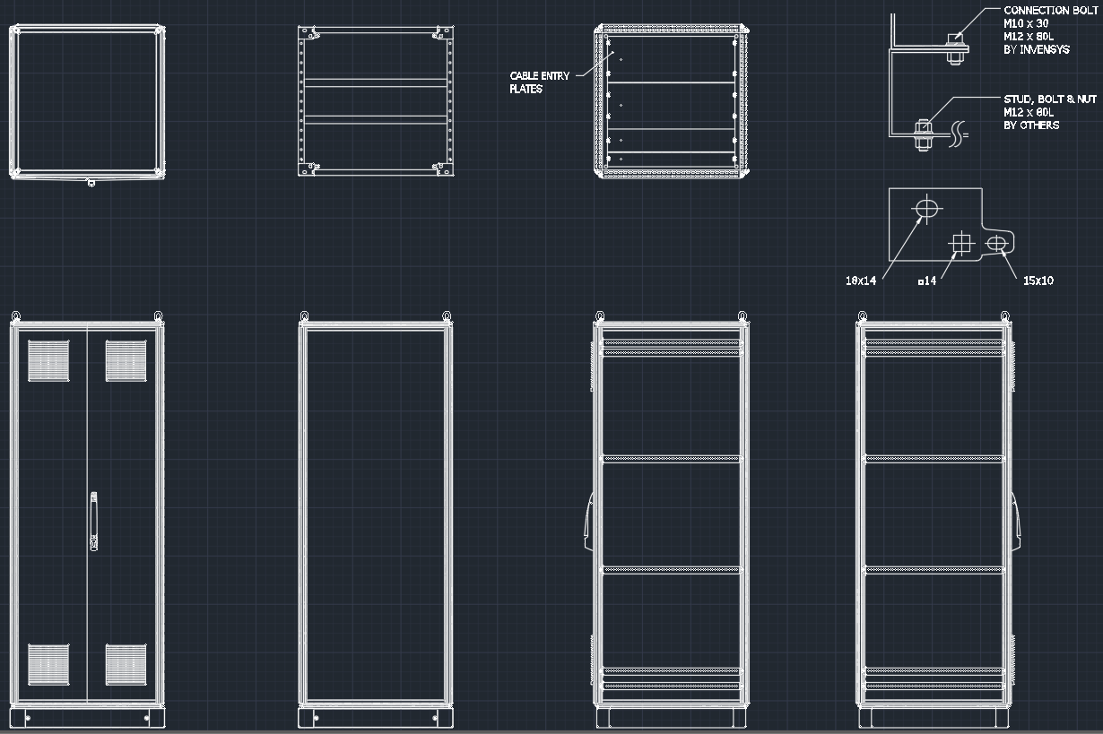 System cabinet free cad blocks and cad drawing for Free online cad system