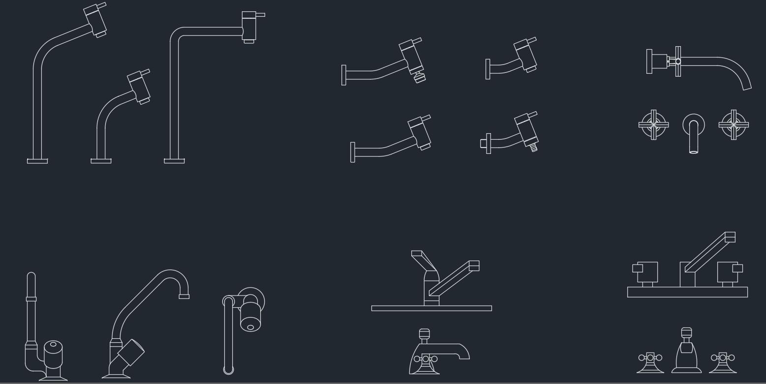 Sinks cad blocks free cad blocks and cad drawing for Autocad bathroom blocks