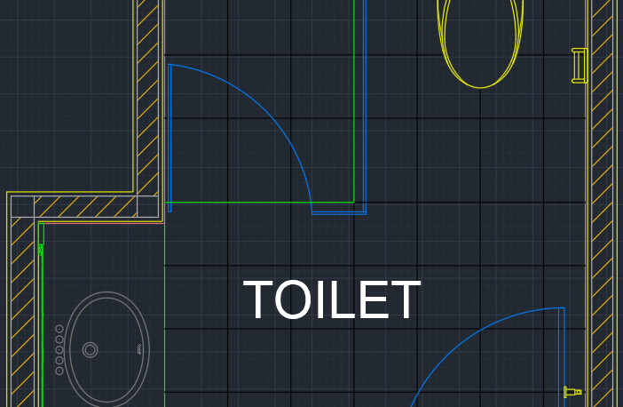 Autocad Public Bathroom Blocks