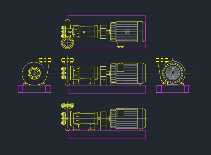 Booster Pump Free Cad Blocks And Cad Drawing