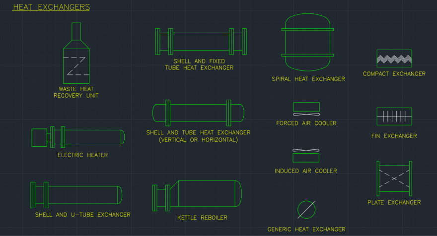 Kettle reboiler free cad block and autocad drawing for Online cad drawing