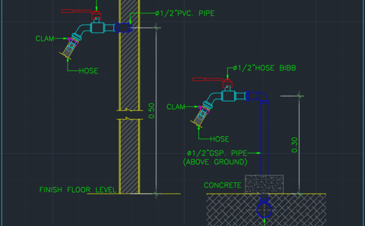 Fire Department Connection Free Cad Blocks And Cad Drawing