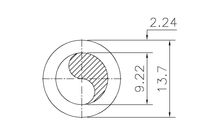 Schedule 40 Pipe 1/4 Inch DN8
