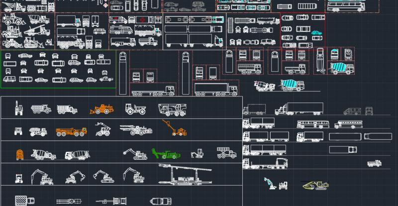 Vehicles And Car Blocks