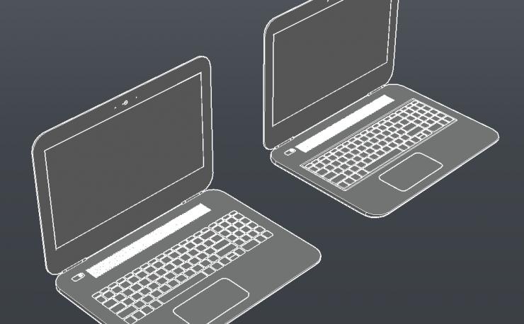 Laptops 3D